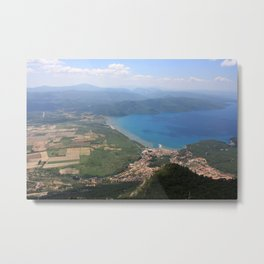Akyaka and The Bay Of Gokova Photograph Metal Print