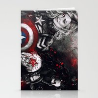 stucky Stationery Cards featuring Can You Love Me Again by Monika Gross