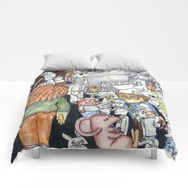 Nightmare Seeds Comforters