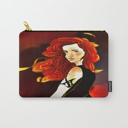 Clary Fray from The Mortal Instruments by Cassandra Clare Carry-All Pouch