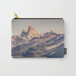 Fitz Roy and Poincenot Andes Mountains - Patagonia - Argentina Carry-All Pouch