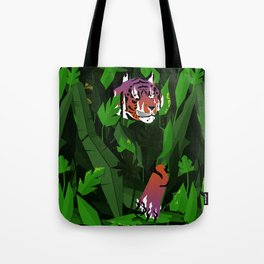 Wildfire in the jungle Tote Bag