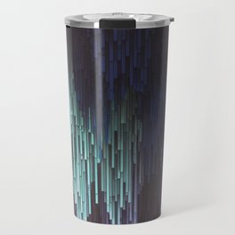 Abstract Waterfall Travel Mug
