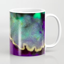 Fluorescent coral skirt Coffee Mug