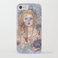 gemma correll iPhone & iPod Cases featuring Lady by Gemma Pallat by ToraSumi
