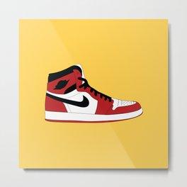Air Jordan 1 Metal Print
