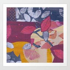 Autumn Dance III Art Print
