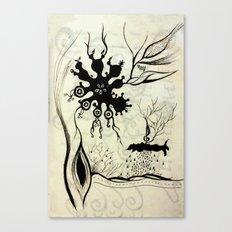 virus Canvas Print