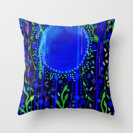 Moonshines Throw Pillow