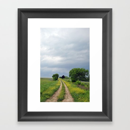 Navarro County, Texas #5 Framed Art Print