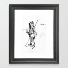 Drakensburg Mist Framed Art Print