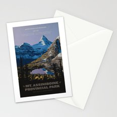 Mt. Assiniboine Provincial Park Stationery Cards