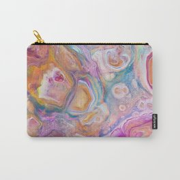 Seashell Mother of Pearl Carry-All Pouch