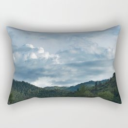 Princess Mononoke Landscape Rectangular Pillow