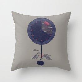 Night Falls Throw Pillow