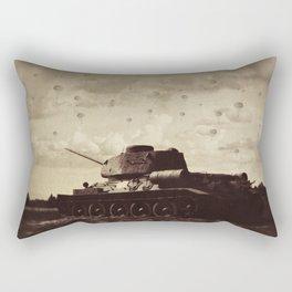 Never Heard Silence Quite This Loud Rectangular Pillow