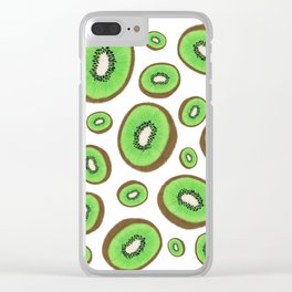 Fresh & Fuzzy Clear iPhone Case