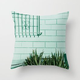 Silver Lake Los Angeles Throw Pillow