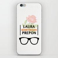alex vause iPhone & iPod Skins featuring Laura Prepon | Alex Vause by Sandi Panda