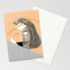 I don't give a fox Stationery Cards