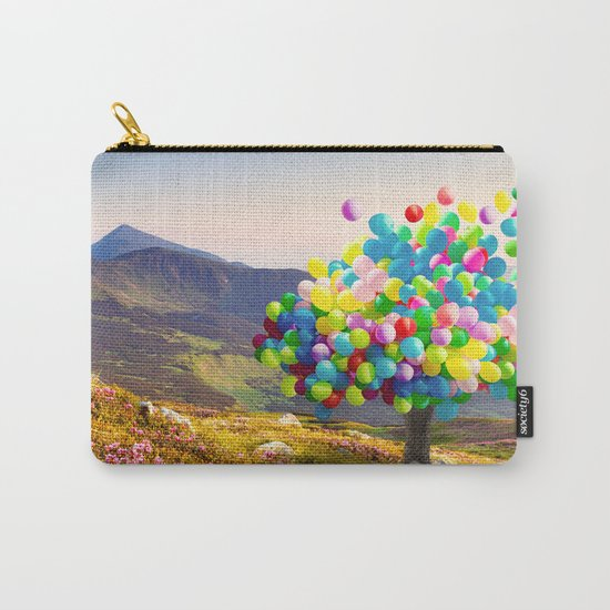 When Balloon Bloom Carry-All Pouch