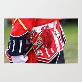 English Uniforms Rug