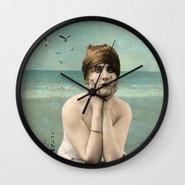 Overflowing Sorrow Wall Clock