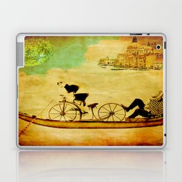 The gondola bicycle ( per Luca ) Laptop & iPad Skin