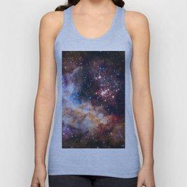 NASA Galaxy Photography Duvet Cover Unisex Tank Top