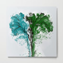 TREES SPREADING Metal Print