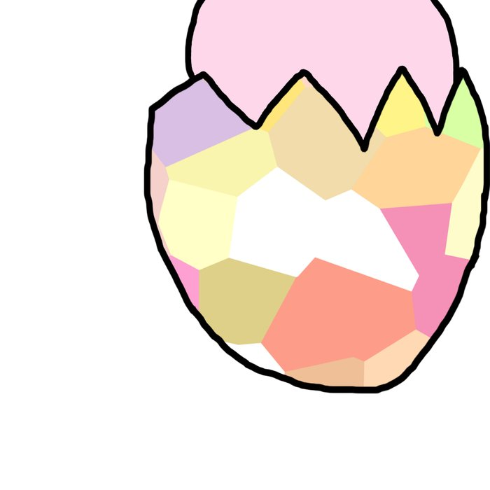 Cute Pink Baby Chick - a hatching chicken for spring and Easter Leggings