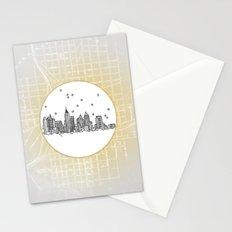 Atlanta, Georgia City Skyline Stationery Cards