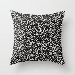 Memphis pattern 4 Throw Pillow