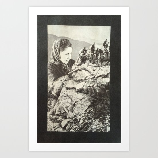 Mother Russia Art Print