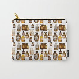 Vintage Chemistry Bottles Carry-All Pouch
