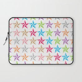 Colorful star shapes Laptop Sleeve