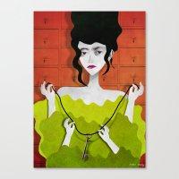 key Canvas Prints featuring Key by Phantasmagoria
