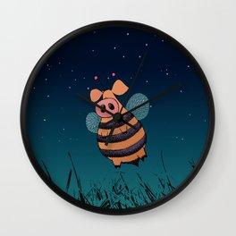 Bumblepig Wall Clock