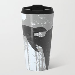 Crow Goes Hunting Travel Mug