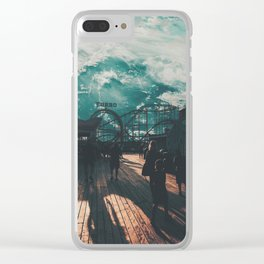 CARNIVAL ON SPACE Clear iPhone Case