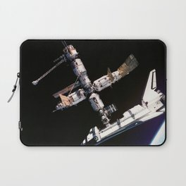 Space Shuttle Space Station Mir Dock Laptop Sleeve