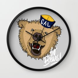 Go Bears! Wall Clock
