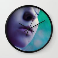 perfume Wall Clocks featuring perfume by mjdesignphoto