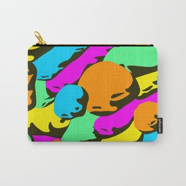 stone colorful pattern. Carry-All Pouch