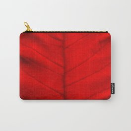 Poinsettia's leaf Carry-All Pouch