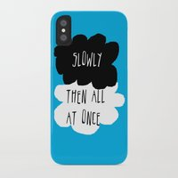 the fault in our stars iPhone & iPod Cases featuring the fault in our stars by Kathy157