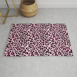Leopard Spots Never Change Your Spots Inspirational Rug