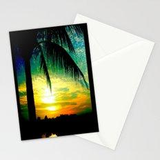 Summer Sunrise - Florida - Palm Trees  Stationery Cards