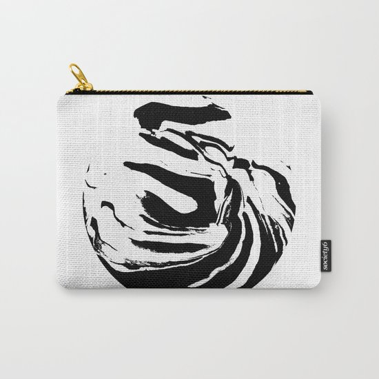 World's Threshold Black and White Marbling, Marbles Lost Carry-All Pouch