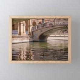 BRIDGE, PONT, Andalousie,  Framed Mini Art Print